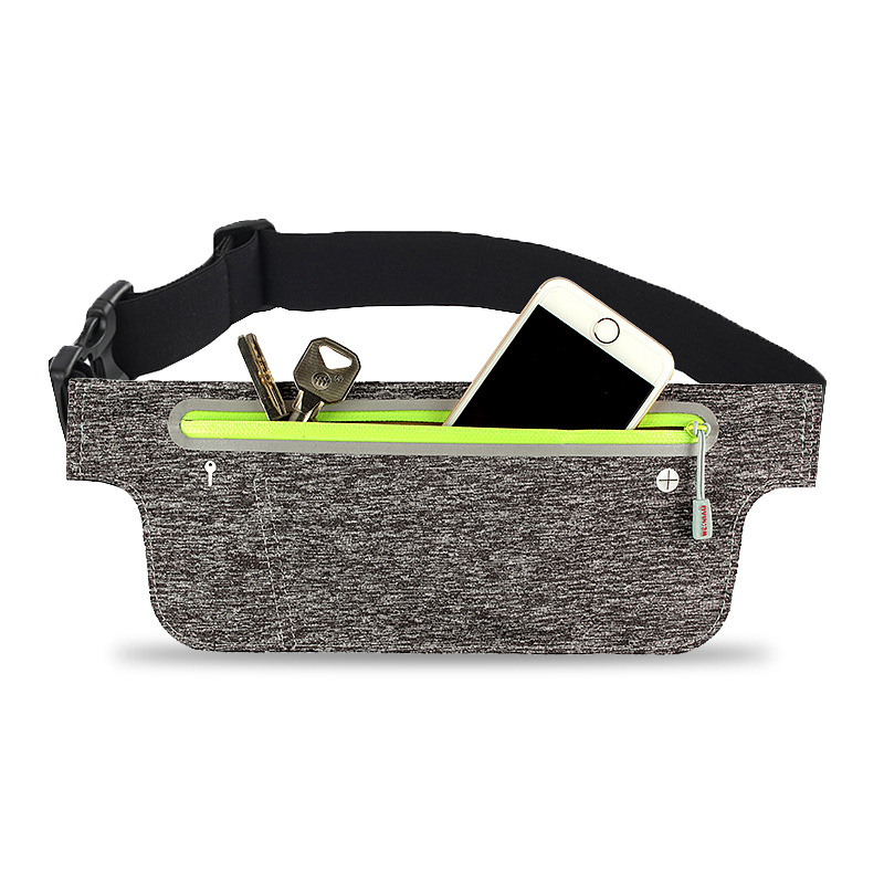 Sport Running Reflective Belt Waist Pack Adjustable Pouch Outdoor Sweatproof Hiking Gear Phone Bag Racing Gym Waist Bag #42