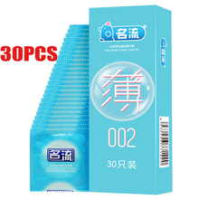 30PCS/lot rubber condoms wholesale for men penis silicone condom Gift vibrating cock ring erotic Adult goods