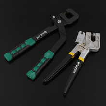Light Steel Double Color Handle Keel Clamp Alloy Punch Ceiling Punching Pliers Keel Installation One Hand Keel Clamp