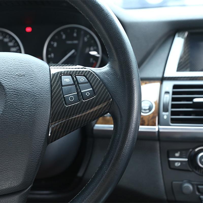 Купить 2 шт глянцевые черные кнопки на руль bmw x5 e70 x6 e71 2008
