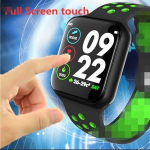 Image 3 - LUOKA F8 פרו חכם שעונים שעון IP67 עמיד למים 15 ימים ארוך המתנה קצב לב לחץ דם Smartwatch תמיכת IOS אנדרואיד