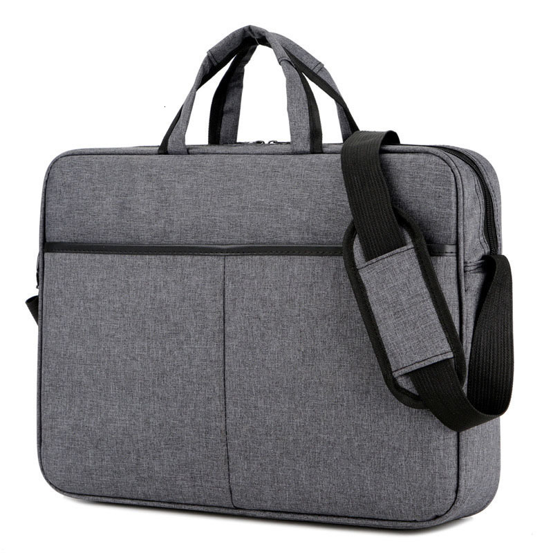 Large Capacity Portable Office Business Briefcase 15.6 Inches Laptop Bag Shoulder Handbags