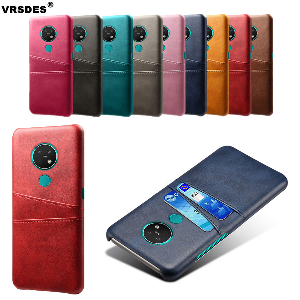 For <font><b>Nokia</b></font> 9 Pureview X71 X7 X6 X5 8.1 7.2 6.2 <font><b>Case</b></font> Card Slots Cover PU Leather+PC <font><b>Case</b></font> For <font><b>Nokia</b></font> 1 3.1 <font><b>5.1</b></font> 6.1 7 7.1 <font><b>Plus</b></font> Funda image