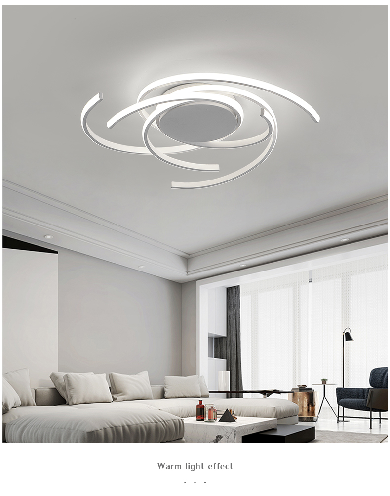 H330012b88ee34b0681f439cbf094fc02w Creative modern led ceiling lights living room bedroom study balcony indoor lighting black white aluminum ceiling lamp fixture