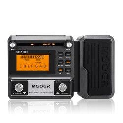 MOOER GE100 мультиэффектный процессор педаль эффектов с циклической записью (180 s), MOOER GE150 гитарный Педальный усилитель моделирующий петлер (80 s)