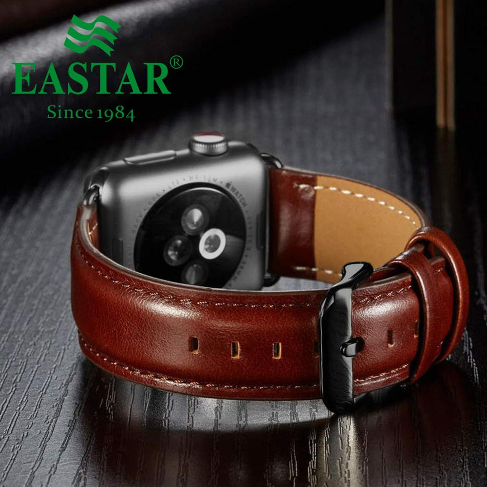 Genuine Leather Watch Band For Apple Watch Series 1/2/3 42mm 38mm Bracelet Strap For Iwatch Series 5 4 40mm 44mm Strap