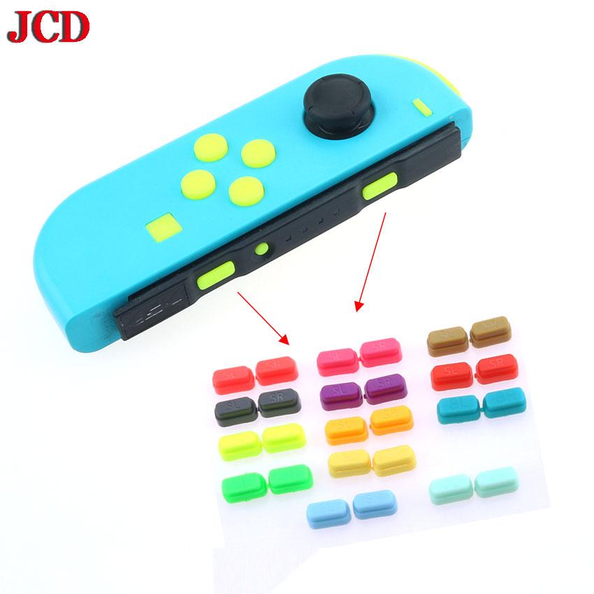 1 Juego para Nintendo Switch NS NX Joy-Con lado izquierdo derecho SR SL botón disparador clave accesorios de juego de reemplazo para Joy Cons