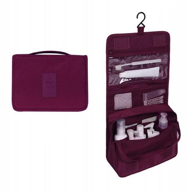 Travel Hook Multifunction Wash Makeup Bag Large Capacity Storage Bag Waterproof Cosmetic Bag Fashion Travel Bag Accessories