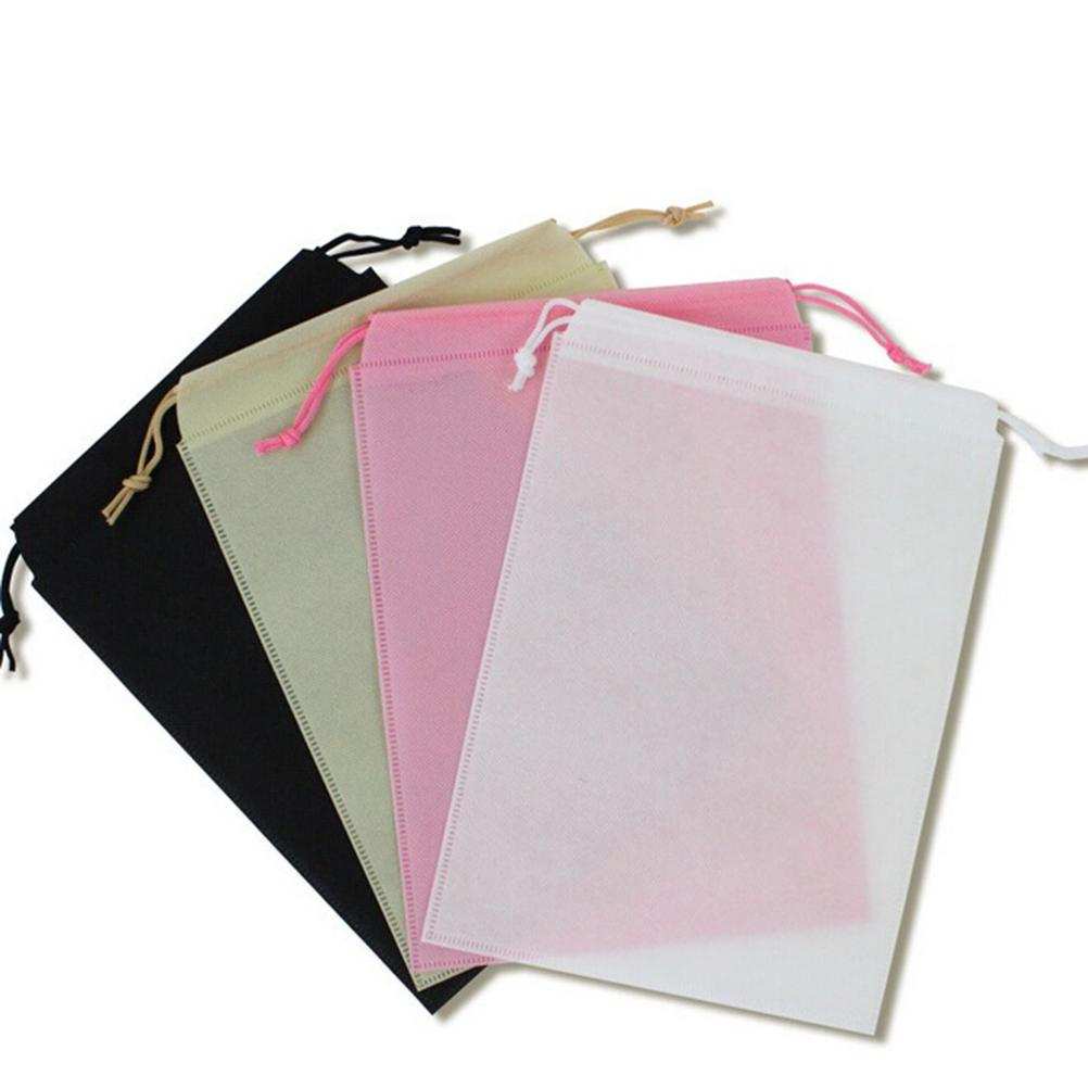 1PCS High Quality Shoes Storage Pouch Bag Travel Drawstring Bag Hot Sale Non-woven Shoes Cloth Bag