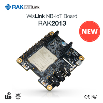 RAK2013 Pi HAT Raspberry 3B+ NB-IoT Cellular Communication Module CAT-M CAT4 Support VoLTE IOT Devices with LTE GPS Antenna Q250