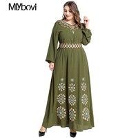 Solid Turkish Muslim Dress Dubai Muslim Islamic Dress Ropa Musulman Mujer Hijab Dress Elbise Abaya Islam Moroccan Kaftan