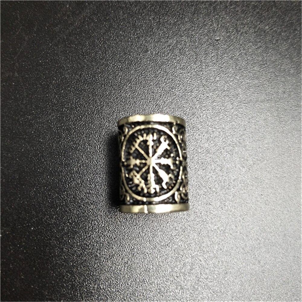 Viking-Hair-Rune-Beads-For-Jewelry-Making-Valknut-Vegvisir-Compass-Trinity-Metal-Spacer-Large-Hole-Bead.jpg_640x640 (1)_副本