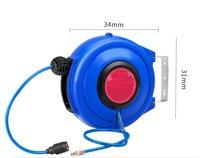 Auto hose reel Gas drum with PU clip yarn 8*5mm 10*6.5mm 12*8mm auto repair pneumatic tool air gun steam drum free for air gun