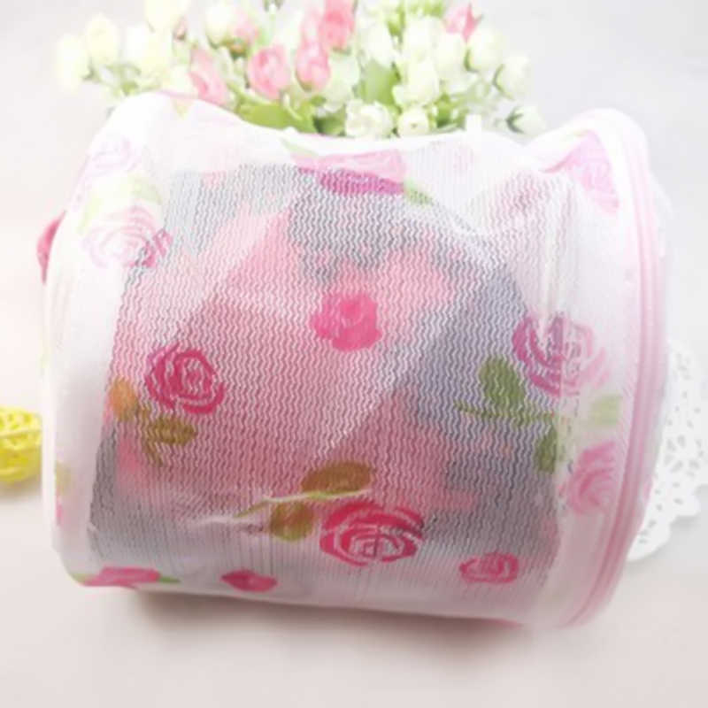 Hilfsmittel-wäscherei Bh Unterwäsche Dessous Mesh Waschen Korb Net Lagerung Tasche blume