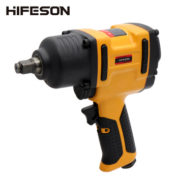 HIFESON Air Pneumatic Wrench Impact Spanner 1/2 900N.M Torque Tool for Tire Removal Nut Sleeves hifeson air pneumatic wrench tool spanner power tools tire remoual torque impact sleeves spanners air tools