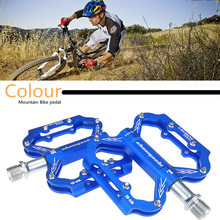 2019 aluminium Legierung Körper Fahrrad Pedale Hohe Qualität Utral Versiegelt Ultraleicht CNC MTB Mountainbike Lager Pedal Fuß Anti-slip