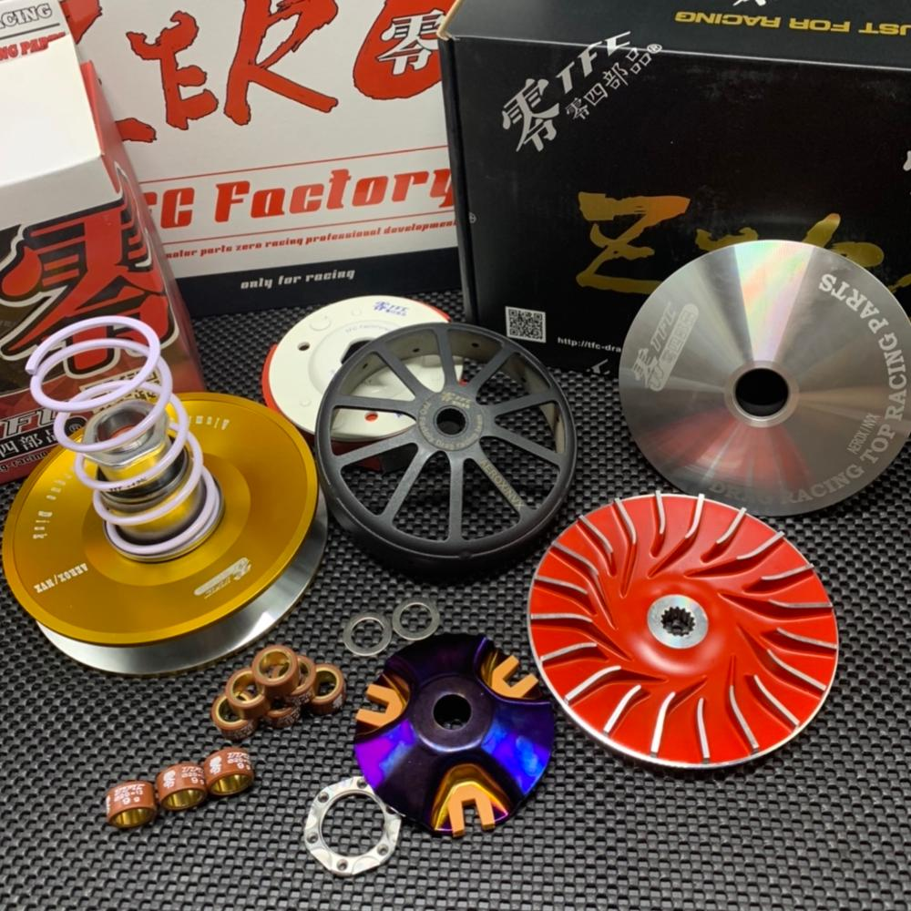 CVT Set TFC For NMAX155 AEROX155 NVX155 Racing Transmission Kit Tuning Upgrade Clutch Variator Torque Driver Nmax Aerox Nvx 155
