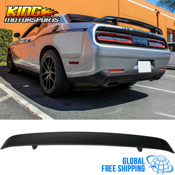 Fit For 2008-2016 Dodge Challenger ABS Rear Trunk Lip Spoiler Wing OE Style Lid Global Free Shipping Worldwide