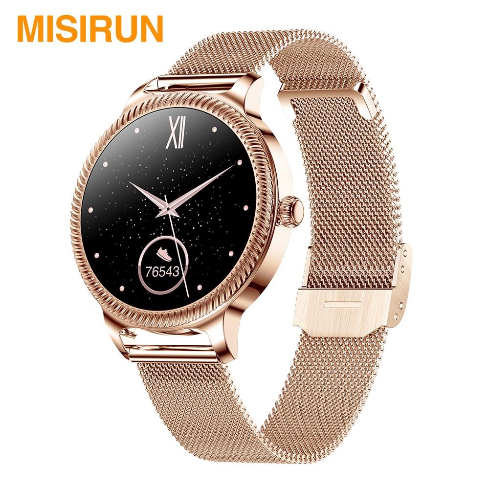 MISIRUN AK38 Smart Watch for Women IP68 Waterproof  Sport Fitness Bracelet Heart Rate Women's Smartwatch for IOS Android