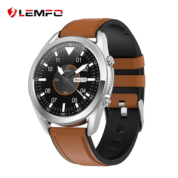 LEMFO G33 Smart Watch Men Bluetooth Call Heart Rate Monitor Sport Smartwatch 2020 For Android IOS Phone 10 Days Standby lemfo professional sport smart clock ip68 5atm waterproof watch men outdoor smartwatch for android ios 10 days standby