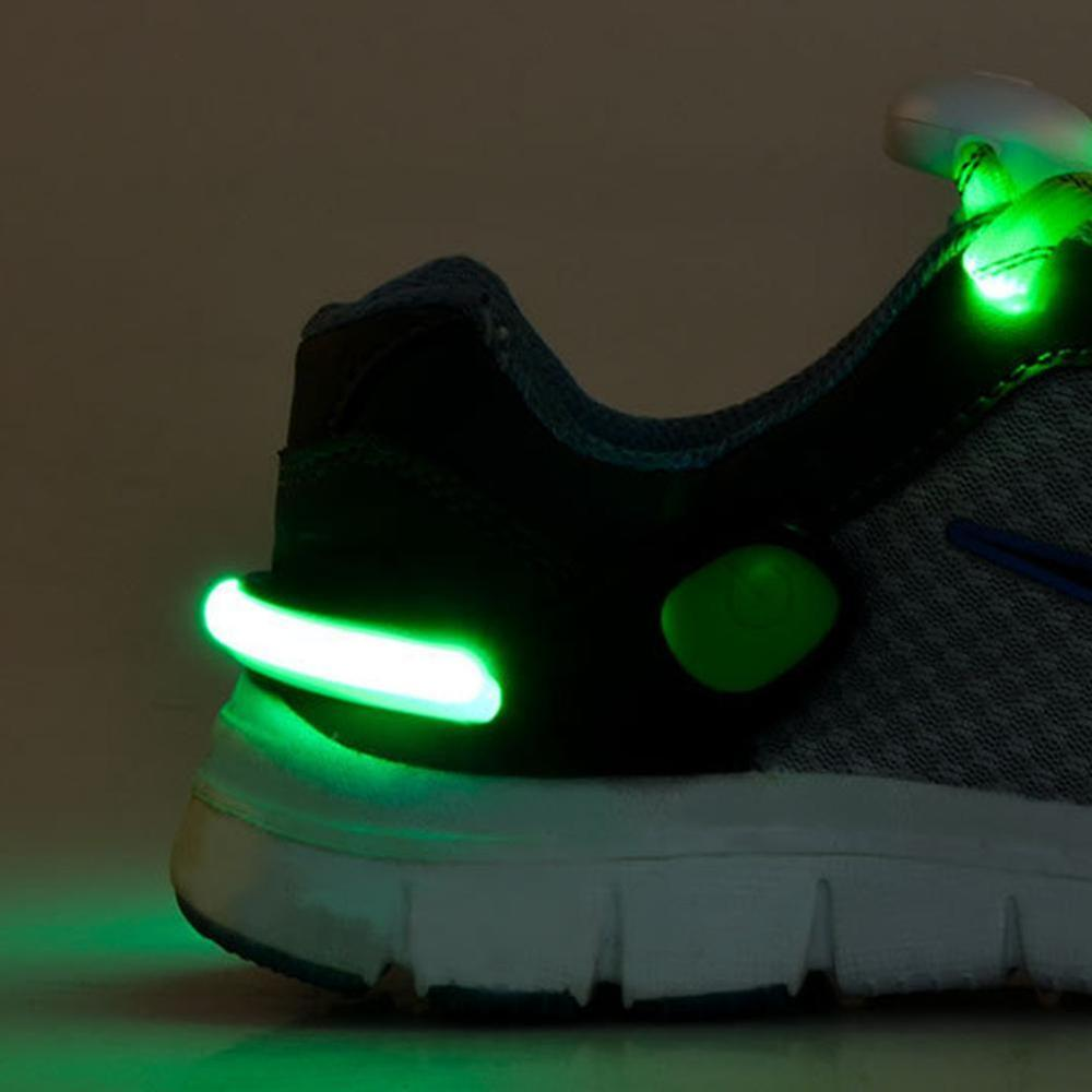 Shoe Clip Light Night Safety Warning LED Bright Light For Running Cycling Bike Useful Outdoor Tool LED Luminous Toys