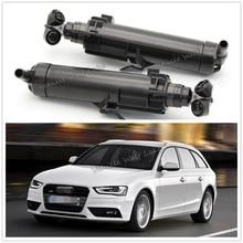 For Audi A4 B8 B9 Avant 2012 2013 2014 2015 New Headlight Washer Lift Cylinder Spray Nozzle Jet