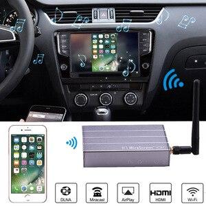 Image 1 - Adaptador de vídeo Dongle con pantalla WiFi para coche, navegación GPS, pantalla de espejo para iPhone X, 6, 7, 8 Plus, Android, Pad TV