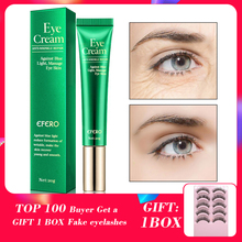 EFERO Eye Cream Peptide Collagen Serum Anti-Wrinkle Anti-Age Remover Dark Circles Bags Against Blue Light Nourishing Eye Cream eye cream peptide collagen serum anti wrinkle anti age remover dark circles eye care against puffiness and bags