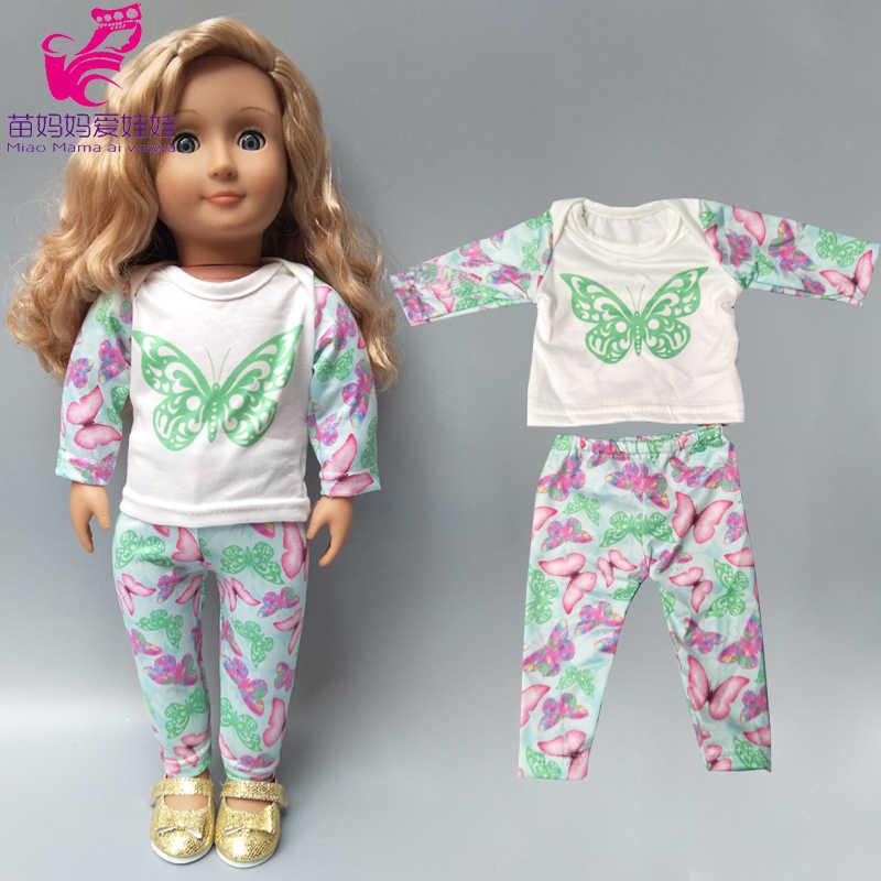 """Baby boy vestiti per le bambole camicia pantaloni cap per 18 """"43 centimetri nato bebe bambola indossa giocattolo del bambino della ragazza Di Natale regali"""