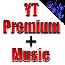 Музыка Youtube Premium и Youtube работает на планшетном ПК с IOS и Android