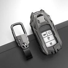 Zinc Alloy Car Remote Key Cover Key Case For Honda Civic CR V HR V Accord Jade Crider Odyssey 2015  2018 Remote Protector