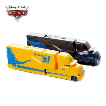 Disney Pixar Cars 2 3 Toys Lightning McQueen Jackson Storm Cruz Mack Uncle Truck 1:55 Diecast Model Car Toy Child Birthday Gift