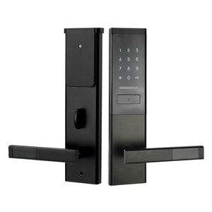 Image 2 - Cerradura electrónica de seguridad, cerradura de pantalla táctil inteligente, teclado de código Digital Deadbolt