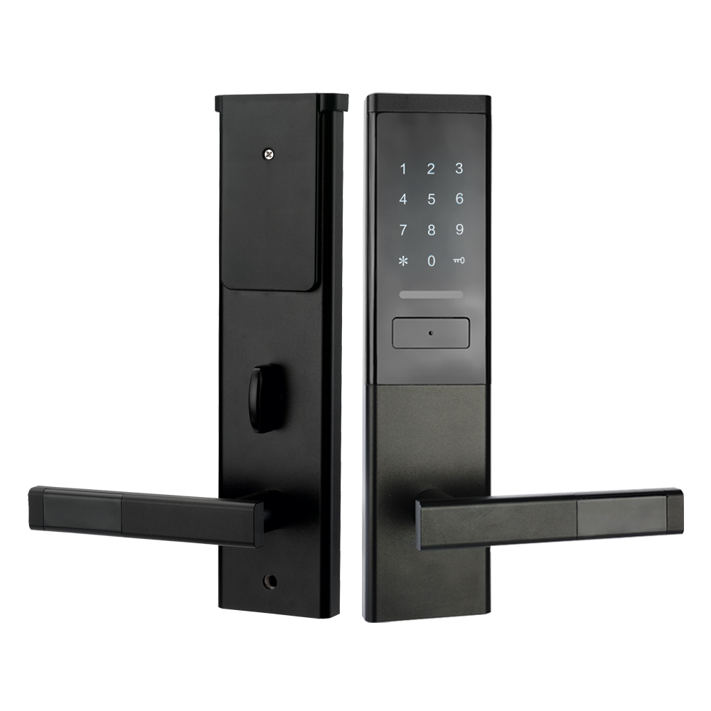 Image 2 - Security Electronic Door Lock, Smart Touch Screen Lock,Digital Code Keypad Deadbolt-in Electric Lock from Security & Protection