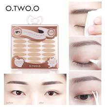 O.TWO.O double eyelid stickers Eye paste invisible fiber strips natural sticky meat color transparent seamless waterproo(China)