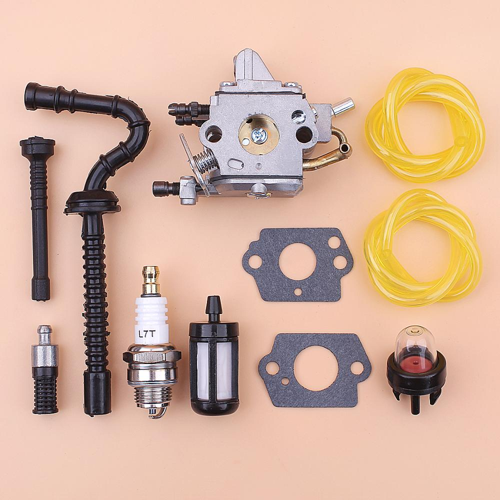 Carburetor Carb For Stihl MS192 MS192T MS192TC Fuel Oil Filter Line Primer Bulb Spark Plug Gasket Chainsaw 1137 120 0650