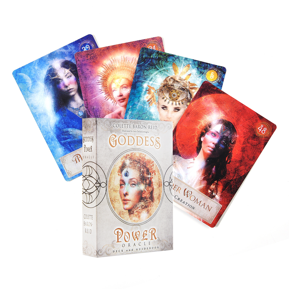 Goddess Power Oracle Deck And E-Guidebook Cards Tarot Oracle Cards