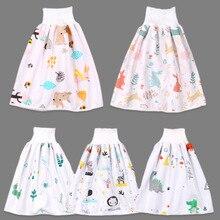 Diaper-Skirt Training-Pants Sleeping-Bed-Pad Dinosaur Cloth Baby Waterproof Cotton Animal