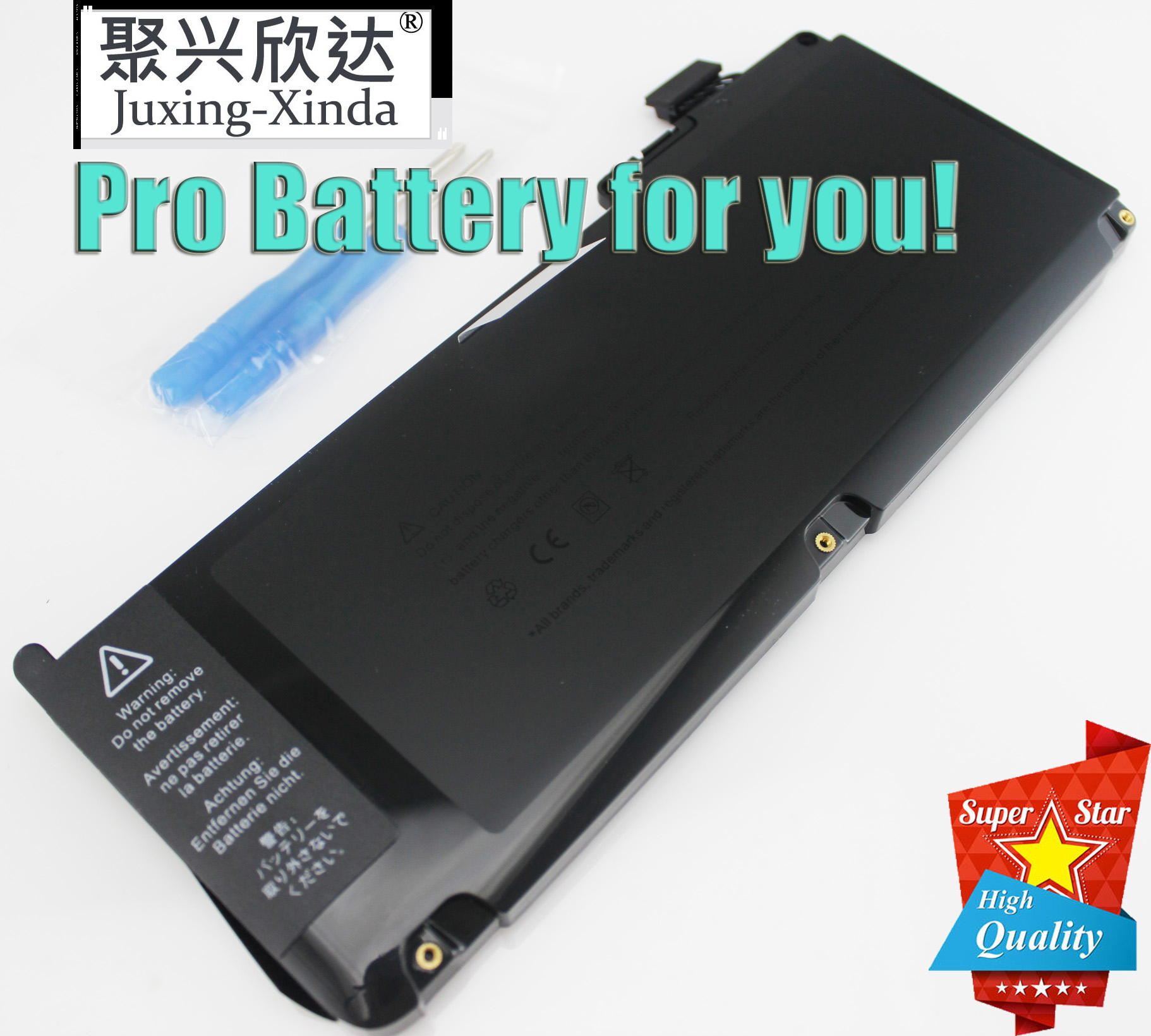 10.95V 63.5WH A1331 Laptop Battery For Apple MacBook Unibody 13