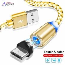 Acgicea 磁気ケーブルマイクロ usb タイプ c 高速充電マイクロ usb タイプ c マグネット充電器ワイヤー usb c iphone 11 pro x xr usb ケーブル