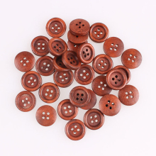 Clothing Wood Sewing Button Scrapbooking Garment Clothes DIY Decor 4Holes 15mm/13mm/10mm 100 PCs 2019 New E
