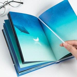 Image 2 - غلاف أوراق لطيفة جديدة جيب مجلة مخطط فارغة مذكرات مفكرة المسافرين مع لون الصفحة دفتر المدرسة المورد