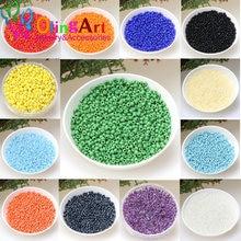 Olingart pingente multicolor 1000 peças 2mm, venda de contas de vidro de semente, colar pulseira diy para fabricação de jóias, acessórios artesanais