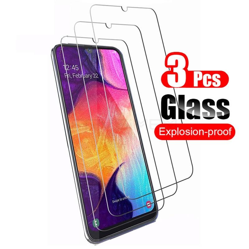 3 шт. защитная пленка из закаленного стекла для Samsung Galaxy Note 10 Lite S10e A50 A30S S10 Lite A51 A71 S20 FE M51 A31 A41 A21S A11 A01