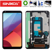 5.5 Original For LG Q6 Display LCD Touch Screen with Frame Digitizer G6 Mini M700A M700DSK