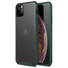 купить Rubber TPU Bumper Shockproof Case for iPhone 11 11Pro Max 2019 Ultra Thin Slim Transparent Crystal Clear PC Cover Capa Fundas дешево
