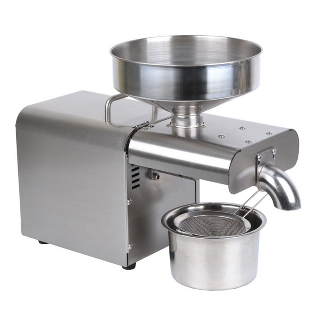 Automatic Oil Press Machine Stainless Steel Presser Cold Hot Press Oil
