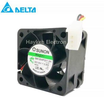 10pcs 4028 1U2U Server Fan 12V 2.8W GM1204PQV1-8A Cooling Ventilation Blower Fan sxdool mga5012xs a10 dc12v 0 19a blower fan server cooling fan 5 5cm 2 wire