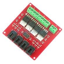 Четырехканальная 4 канальная Кнопка MOSFET IRF540 V4.0 + модуль переключателя MOSFET для Arduino