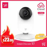 Yi 1080p casa câmera interior ip sistema de vigilância de segurança com visão noturna para casa/escritório/bebê/babá/pet monitor ios android